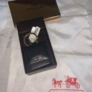 New in original box Coach key chain